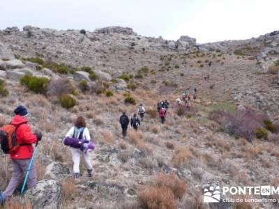 La sierra de Paramera - Castillo de Manqueospese / Aunqueospese - Castro Celta de Ulaca; senderos de